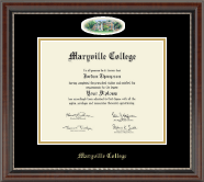 Maryville College Diploma Frame - Campus Cameo Diploma Frame in Chateau