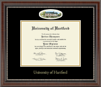 University of Hartford Diploma Frame - Campus Cameo Diploma Frame in Chateau