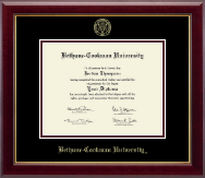 Bethune-Cookman University Diploma Frame - Gold Embossed Diploma Frame in Gallery
