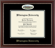 Wilmington University Diploma Frame - Campus Cameo Diploma Frame in Chateau