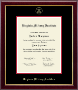 Virginia Military Institute Diploma Frame - Gold Embossed Diploma Frame in Gallery