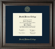 South Plains College Diploma Frame - Gold Embossed Diploma Frame in Acadia