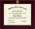 McNeese State University Diploma Frame - Century Gold Engraved Diploma Frame in Cordova