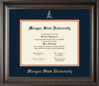 Morgan State University Diploma Frame - Gold Embossed Diploma Frame in Acadia