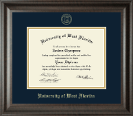 University of West Florida Diploma Frame - Gold Embossed Diploma Frame in Acadia
