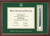 Webber International University Diploma Frame - Tassel Edition Diploma Frame in Newport