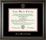 Anna Maria College Diploma Frame - Gold Embossed Diploma Frame in Acadia