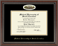 Medical University of South Carolina Diploma Frame - Campus Cameo Diploma Frame in Chateau