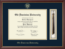 Old Dominion University Diploma Frame - Tassel Edition Diploma Frame in Newport