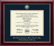 Pennsylvania State University Diploma Frame - Masterpiece Medallion Diploma Frame in Gallery
