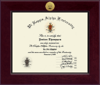 Pi Kappa Alpha Certificate Frame - Century Gold Engraved Certificate Frame in Cordova