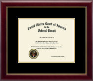 The United States Court of Appeals Certificate Frame - Certificate Frame in Gallery