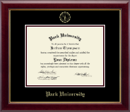 Park University Diploma Frame - Gold Embossed Diploma Frame in Gallery