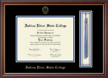 Indian River State College Diploma Frame - Tassel Edition Diploma Frame in Newport