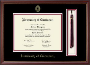 University Of Cincinnati Diploma Frame