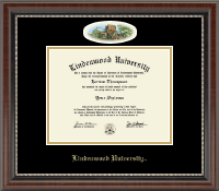 Lindenwood University Diploma Frame - Campus Cameo Diploma Frame in Chateau