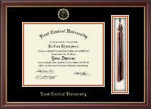 East Central University Diploma Frame - Tassel Edition Diploma Frame in Newport