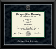 Silver Engraved Heirloom Edition Diploma Frame