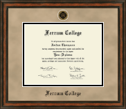 Ferrum College Diploma Frame - Heirloom Edition Diploma Frame in Ashford