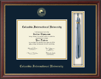Columbia International University Diploma Frame - Tassel Edition Diploma Frame in Newport