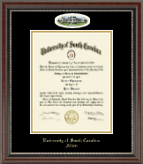 University of South Carolina Aiken Diploma Frame - Campus Cameo Diploma Frame in Chateau