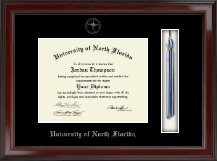 University of North Florida Diploma Frame - Tassel Edition Diploma Frame in Encore