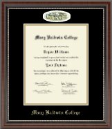 Mary Baldwin College Diploma Frame - Campus Cameo Diploma Frame in Chateau