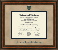 University of Pittsburgh Diploma Frame - Heirloom Edition Diploma Frame in Ashford