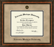 Nebraska Wesleyan University Diploma Frame - Heirloom Edition Diploma Frame in Ashford
