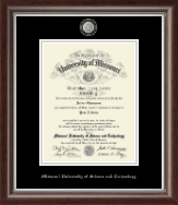 Missouri University of Science and Technology Diploma Frame - Masterpiece Medallion Diploma Frame in Devonshire