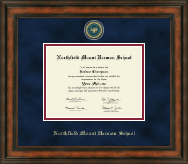 Northfield Mount Hermon School Diploma Frame - Heirloom Edition Diploma Frame in Ashford