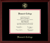 Howard College - San Angelo Diploma Frame - Gold Embossed Diploma Frame in Camby
