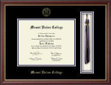 Mount Union College Diploma Frame - Tassel Edition Diploma Frame in Newport