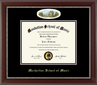 Manhattan School of Music Diploma Frame - Campus Cameo Diploma Frame in Chateau
