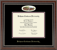 Bethune-Cookman University Diploma Frame - Campus Cameo Diploma Frame in Chateau
