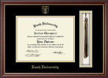 Rush University Diploma Frame - Tassel Edition Diploma Frame in Newport