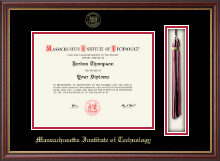 Massachusetts Institute of Technology Diploma Frame - Tassel Edition Diploma Frame in Newport