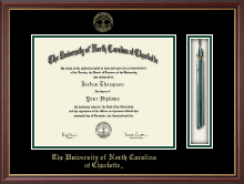The University of North Carolina at Charlotte Diploma Frame - Tassel Edition Diploma Frame in Newport