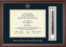 South Dakota State University Diploma Frame - Tassel Edition Diploma Frame in Newport