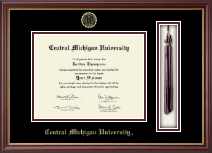 Central Michigan University Diploma Frame - Tassel Edition Diploma Frame in Newport
