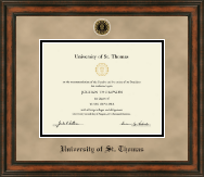 University of St. Thomas Diploma Frame - Heirloom Edition Diploma Frame in Ashford