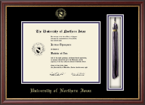 University of Northern Iowa Diploma Frame - Tassel Edition Diploma Frame in Newport
