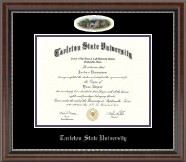 Tarleton State University Diploma Frame - Campus Cameo Diploma Frame in Chateau