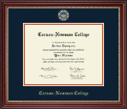 Carson-Newman College Diploma Frame - Masterpiece Medallion Diploma Frame in Kensington Gold