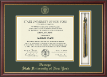 State University of New York at Oswego Diploma Frame - Tassel Edition Diploma Frame in Newport