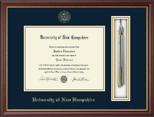 University of New Hampshire Diploma Frame - Tassel Edition Diploma Frame in Newport