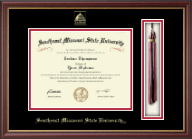 Southeast Missouri State University Diploma Frame - Tassel Edition Diploma Frame in Newport