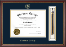 Clarkson College Diploma Frame - Tassel Edition Diploma Frame in Newport