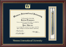 Western International University Diploma Frame - Tassel Edition Diploma Frame in Newport
