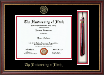 The University of Utah Diploma Frame - Tassel Edition Diploma Frame in Newport